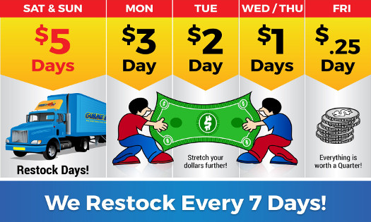 Weekly Pricing Flyer